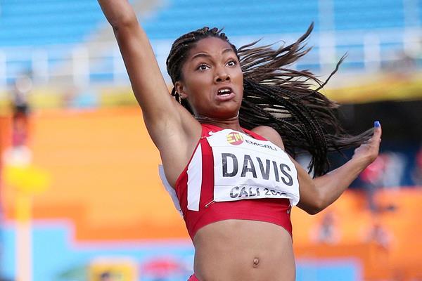 Tara Davis at the IAAF World Youth Championships, Cali 2015 (Getty Images)