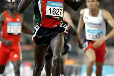 Kenya's Alex Kipchirchir - 800m gold - Melbourne (Getty Images)
