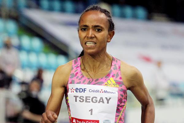 Ethiopian middle-distance runner Gudaf Tsegay (Jean-Pierre Durand)