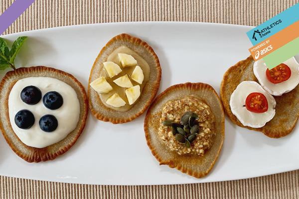 Buckwheat pancakes (Mara Yamauchi)