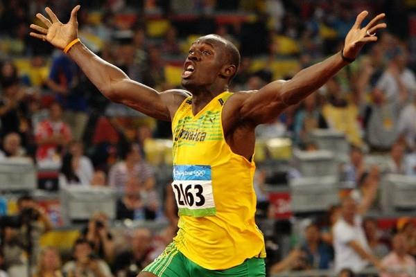 Lighting bolt strikes twice: two world records and two gold medals for Usain Bolt (Getty Images)