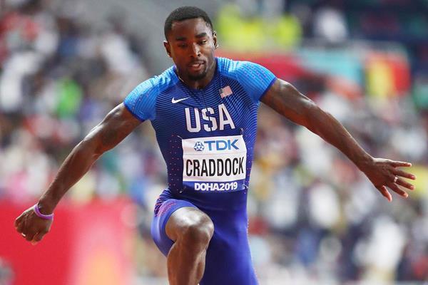 Omar Craddock at the IAAF World Athletics Championships Doha 2019 (Getty Images)