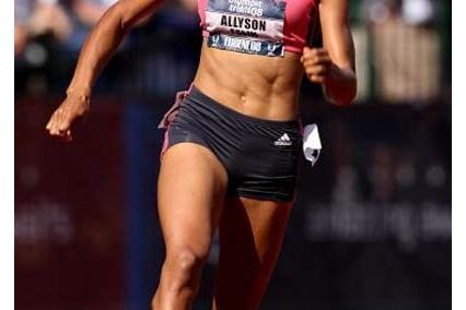 Allyson Felix runs away with 200m title - US Olympic Trials (Getty Images)