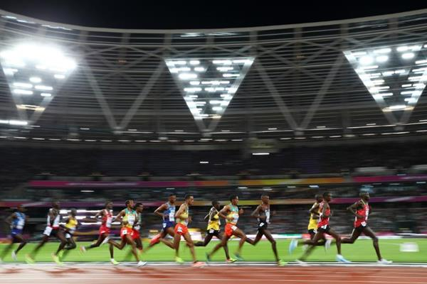 The men's 10,000m at the IAAF World Championships London 2017 (Getty Images)