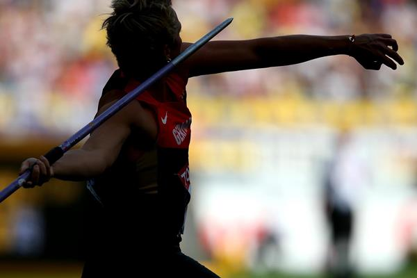 DAY 9 (18/08/2013): Christina OBERGFOLL, Javelin Throw Women Final (EOS-1D X + EF500mm F4L IS USM + EXTENDER EF1.4x III, F6.3, 1/1600sec., ISO400) (Akito Mizutani)