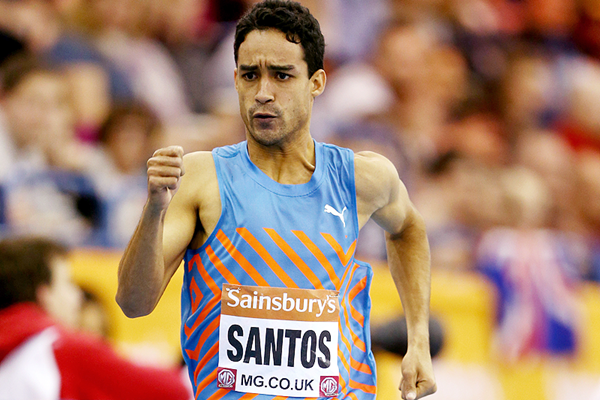 Luguelin Santos in action in the 400m (Getty Images)