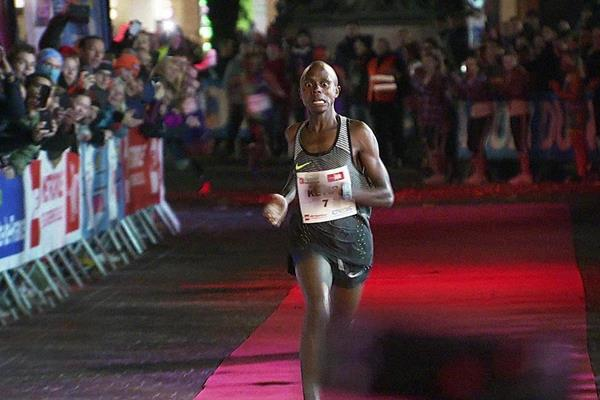 Robert Keter wins the Urban Trail Lille 5km (Organisers)