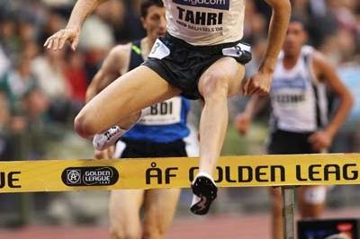 Bouabdellah Tahri of France in action during the 3000m Steeplechase (Getty Images)