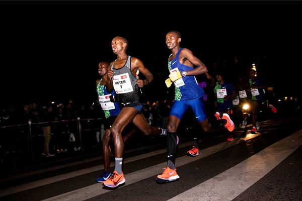 Robert Keter in action at the Urban Trail Lille 5km (Organisers)