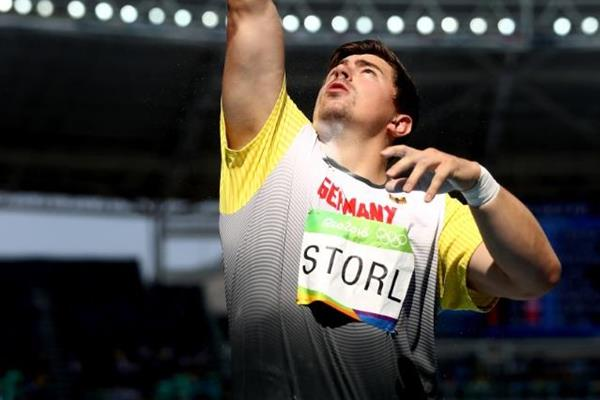 David Storl in the shot put at the Rio 2016 Olympic Games (Getty Images)