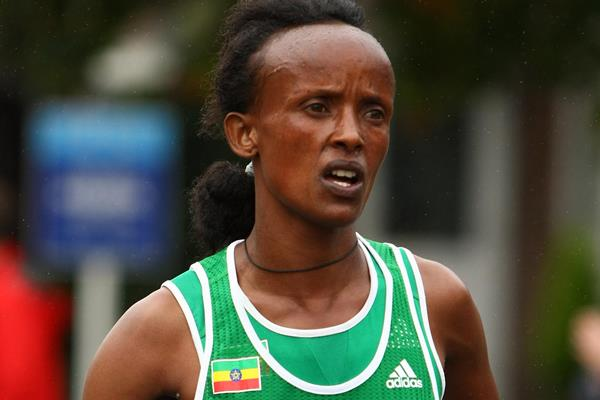 Ethiopian distance runner Aberu Kebede (Getty Images)