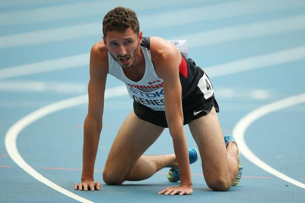 Canadian steeplechaser Alex Genest (Getty Images)