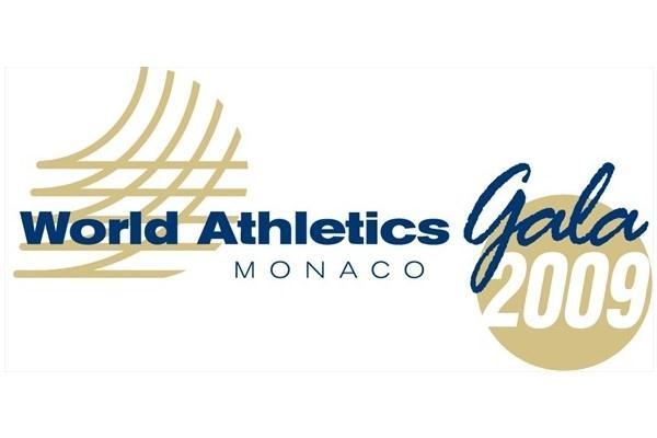2009 World Athletics Gala Logo (IAAF.org)