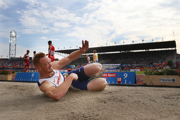 Greg Rutherford wins the long jump at the European Championships (Getty Images)