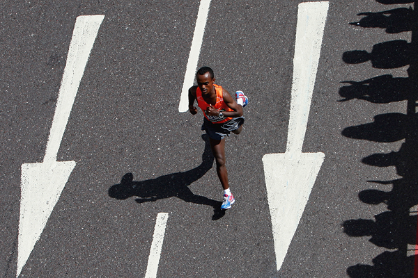 Ethiopian marathon runner Tsegay Kebede (Getty Images)