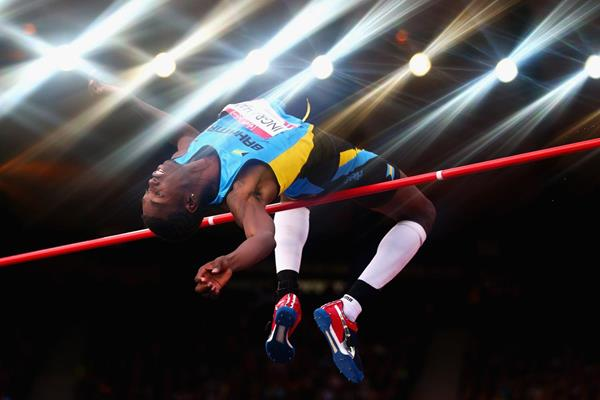 Bahamian high jumper Ryan Ingraham (Getty Images)