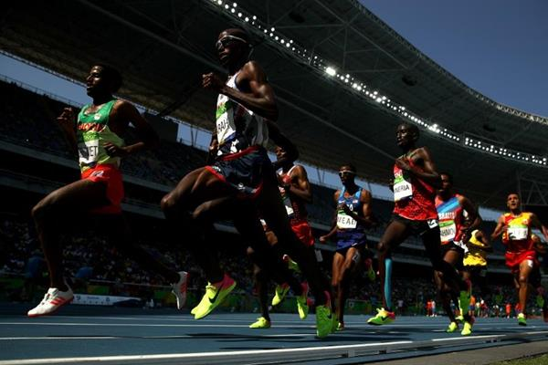Mo Farah in the 5000m at the Rio 2016 Olympic Games (Getty Images)