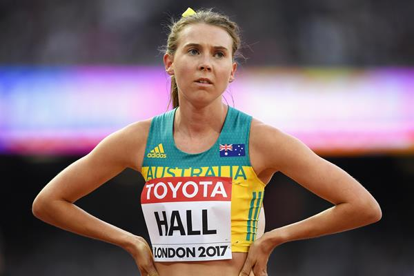 Australian middle-distance runner Linden Hall (Getty Images)