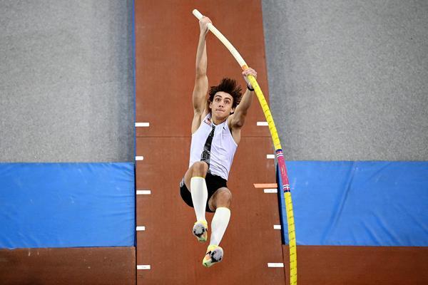 Swedish pole vaulter Mondo Duplantis (AFP / Getty Images)