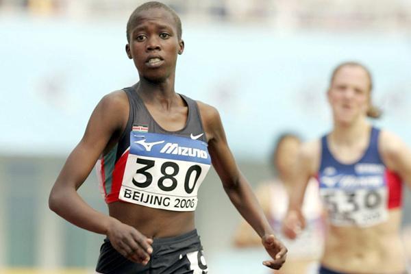 1500m runner Mercy Jelimo Kosgei of Kenya (Getty Images)