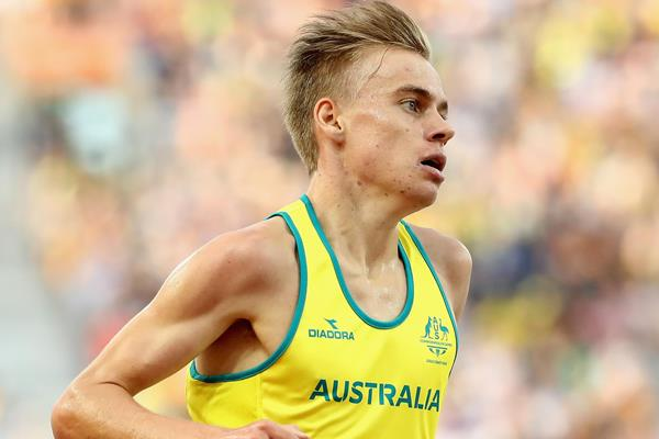 Stewart McSweyn in the Commonwealth Games 5000m (Getty Images)