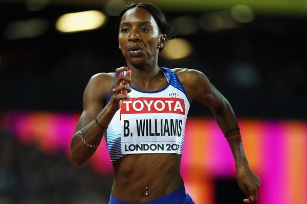 British sprinter Bianca Williams (Getty Images)