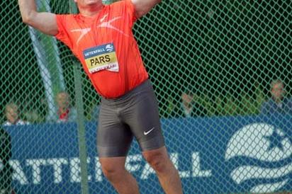 Krisztian Pars throwing in Lapua (Paula Noronen)