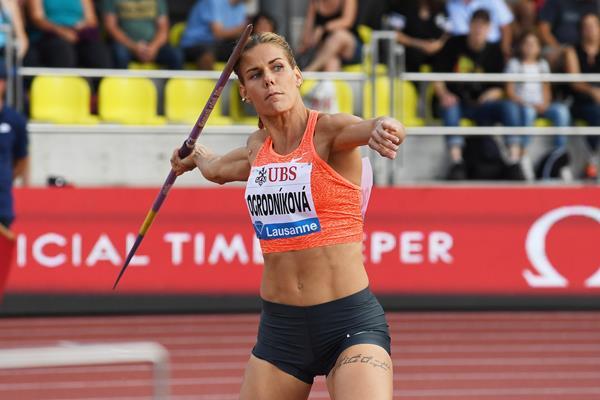 Lausanne javelin winner Nikola Ogrodnikova  (Gladys Chai von der Laage)