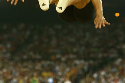 Hussein Taher Al-Sabee wins the long jump with 8.35m (Getty Images)