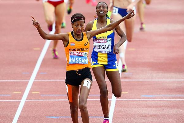 Sifan Hassan wins the European 1500m title (Getty Images)