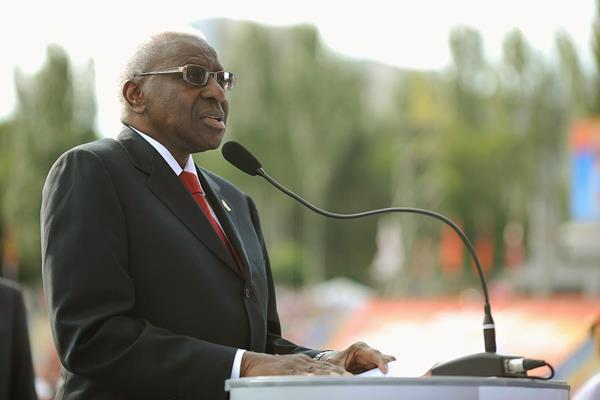 IAAF president Lamine Diack (Getty Images)