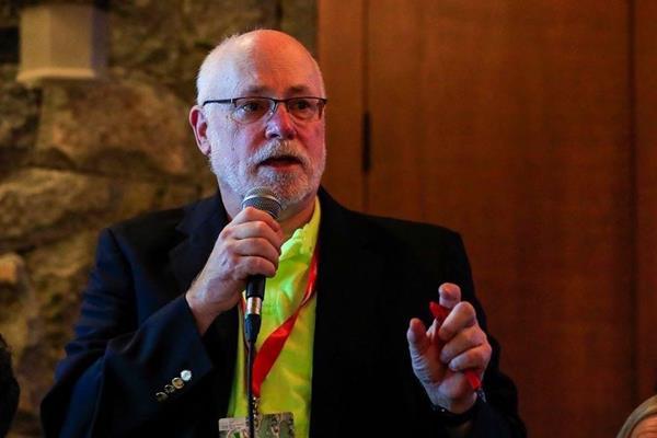 Long-time USA athletics official Bill Roe (Carlos Zayas)