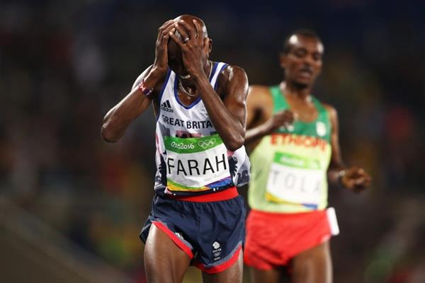Mo Farah wins the 10,000m at the Rio 2016 Olympic Games (Getty Images)