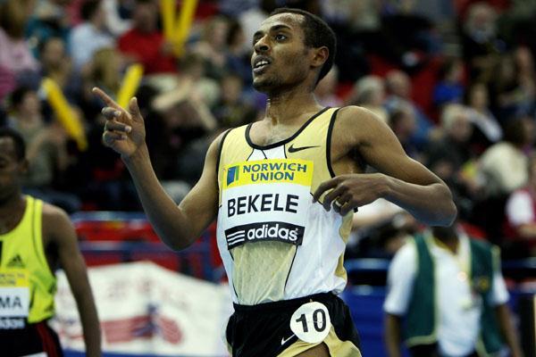 World 2 Mile best for Kenenisa Bekele in Birmingham (Getty Images)