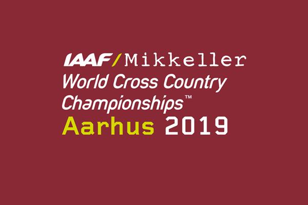 IAAF/Mikkeller World Cross Country Championships Aarhus 2019 logo (IAAF)