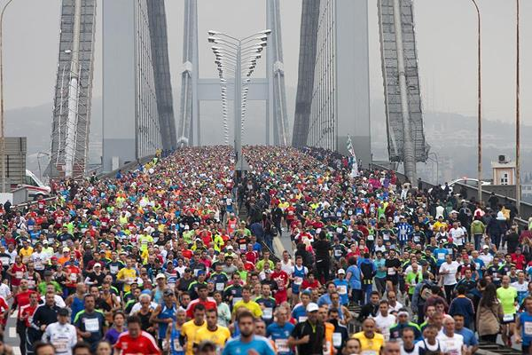 Runners in the 2014 Vodafone Istanbul Marathon (Organisers)
