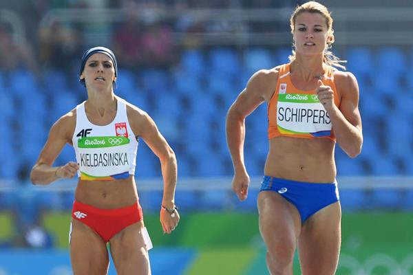 Dafne Schippers in the 200m at the Rio 2016 Olympic Games (Getty Images)