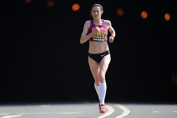 Jo Pavey at the London Marathon (Getty Images)