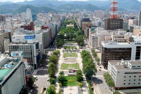 Odori Park in Sapporo (Yoshimura)