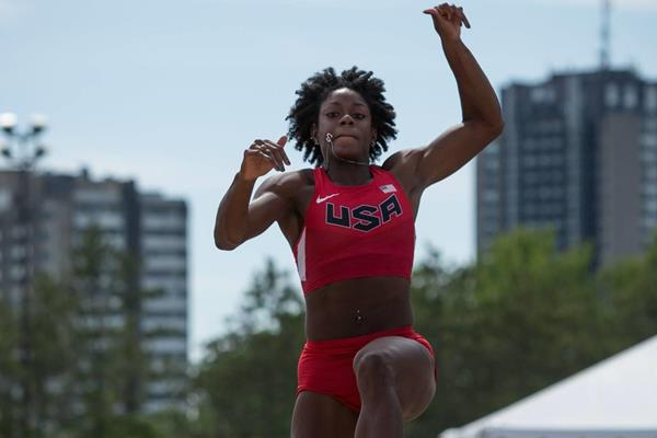 Quintunya Chapman at the 2016 Pan American Combined Events Cup (Brian Rouble / organisers)