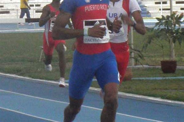 Javier Culson at the CAC champs in Havana (Javier Clavelo Robinson)