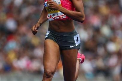 Sanya Richards continues her dominance over the 400m in the Golden League (Getty Images)