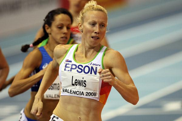 Tamsyn Lewis, the surprise winner of the women's 800m (Getty Images)
