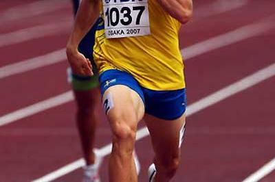 Johan Wissman of Sweden - national record in 400m heats (Getty Images)