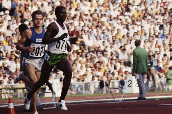 Ben Jipcho at the 1972 Olympic Games (Getty Images)