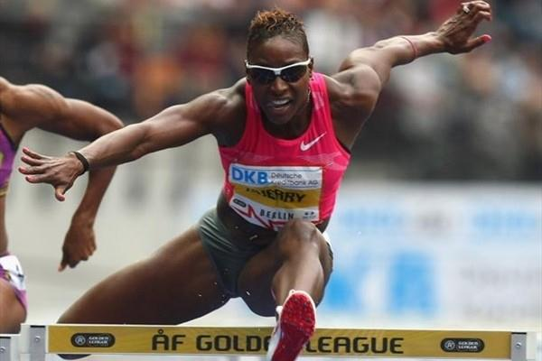 Damu Cherry takes the victory in the Berlin Golden League (Getty Images)