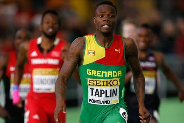 Bralon Taplin at the IAAF World Indoor Championships Portland 2016 (Getty Images)