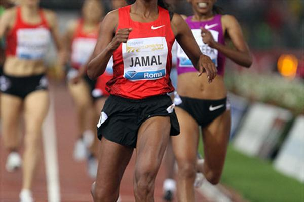 Maryam Yusuf Jamal wins 1500m in Rome (Giancarlo Colombo)