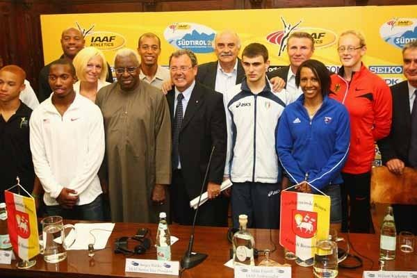 Bressanone Press Conference with IAAF Ambassadors (Getty Images)