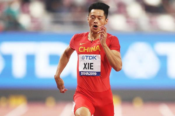 Xie Zhenye at the IAAF World Athletics Championships Doha 2019 (Getty Images)